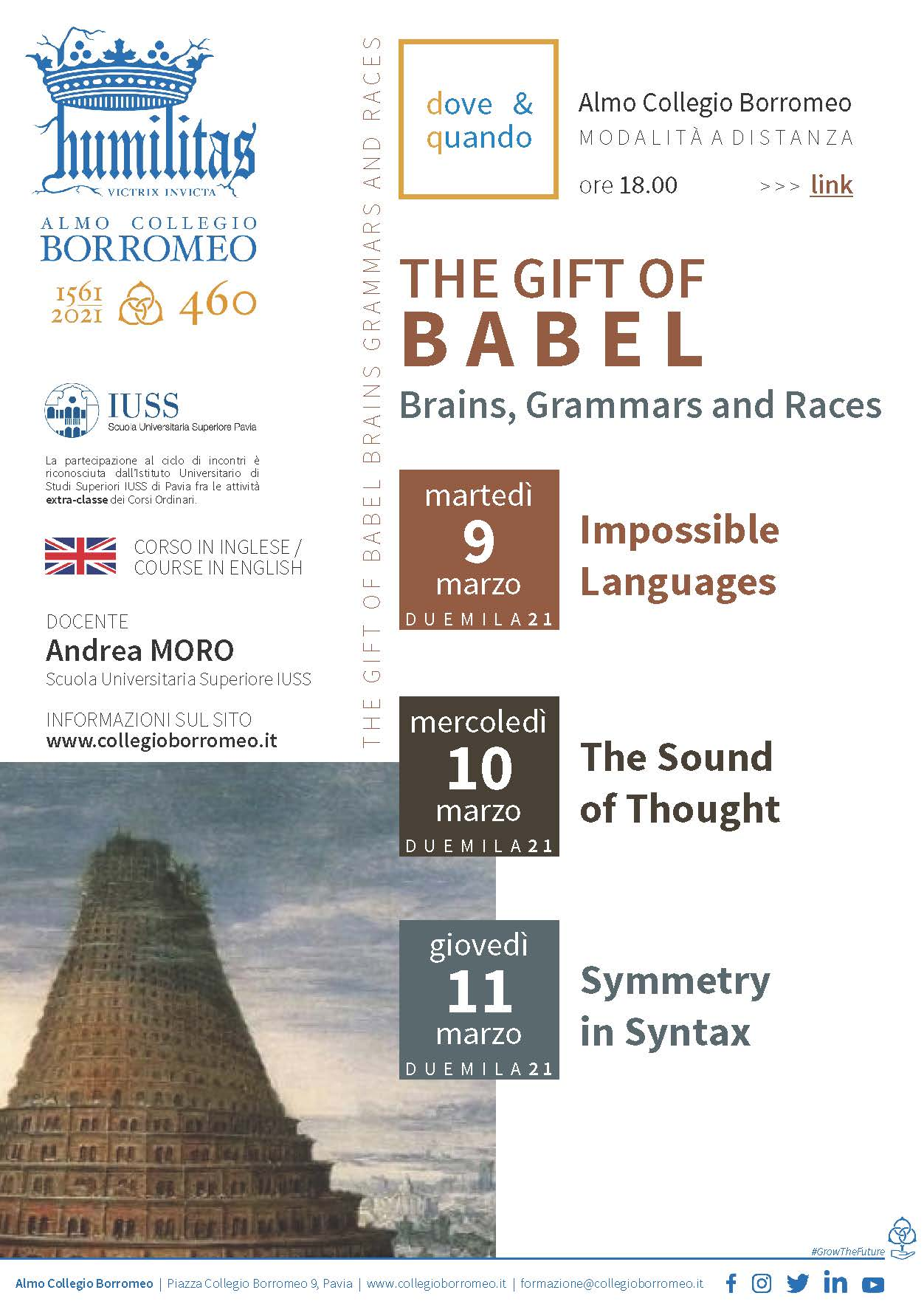 The gift of Babel 2021
